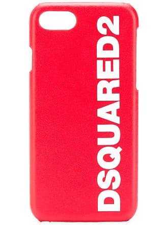 Dsquared2 Capa para iPhone 8 - Vermelho
