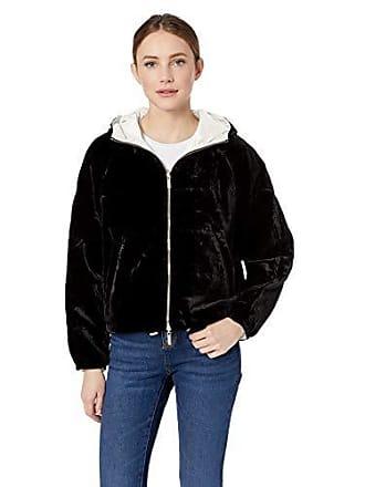 A|X Armani Exchange Womens Reversible Bomber Jacket, Martini/Black, S