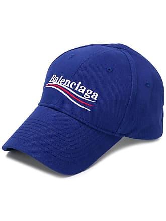 ee4ef2f0870 Balenciaga New Political logo baseball cap - Blue