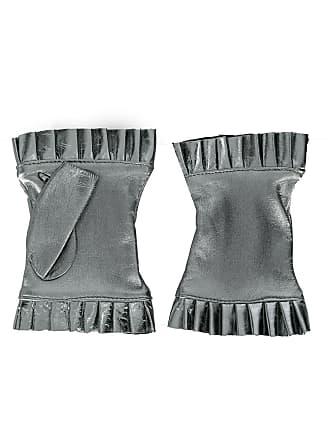 Gala Gloves Par de luvas sem dedos - Prateado