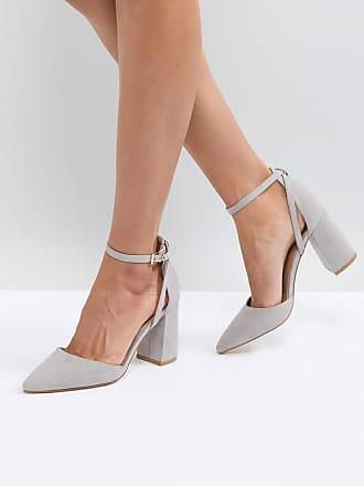 711e2ff53b6a85 Raid Katy - Graue Schuhe mit Blockabsatz - Grau