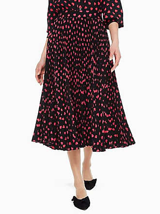 506787acdf Kate Spade New York Heartbeat Pleated Skirt, Black - Size 0