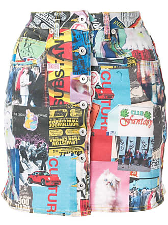 Ground-Zero printed mini skirt - Estampado