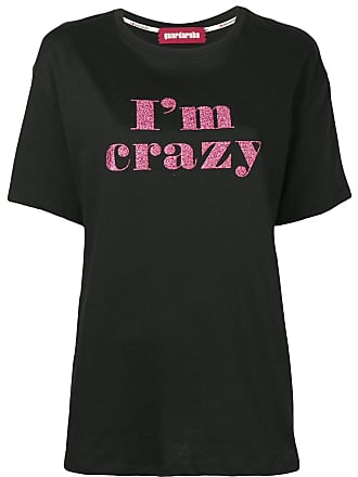Guardaroba Camiseta Im Crazy - Preto