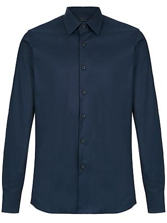 Prada Camisa mangas longas - Azul