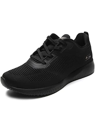 Skechers Tênis Skechers Performance Bobs Squad - Tough Tal Preto