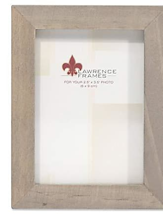 Lawrence Frames 2x3 Gray Wood Gallery Collection Picture Frame