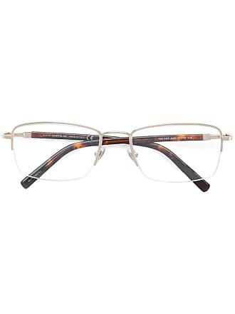 Montblanc Óculos com meia armação - Metálico