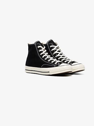 d2882c91802a Converse black and white 70s chuck taylor sneakers