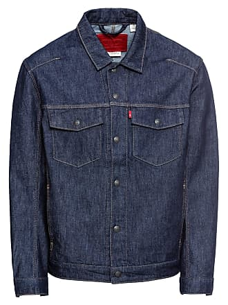 Mens Levis Denim Trucker Biker Button Up Jacket Coat M Medium Keine Kostenlosen Kosten Zu Irgendeinem Preis Men's Clothing Clothes, Shoes & Accessories