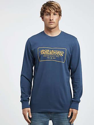 Billabong Trade Mark - Long Sleeves Tee - Men - XS - Blue