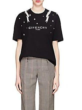 8d7d3dd9b24f Givenchy Womens Logo Cotton T-Shirt - Black Size L