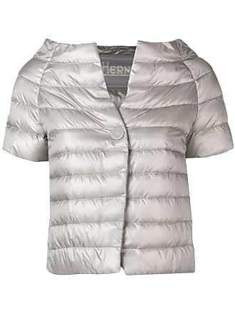 Herno padded short sleeve jacket - Grey
