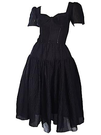 7634447fc3 Dolce   Gabbana Stunning Dolce   Gabbana Black Silk Sequin Bustier Dress  From Spanish Collection