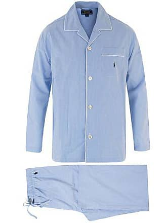 Polo Ralph Lauren Pyjama Set Mini Gingham Blue 9e10cdb180c9c
