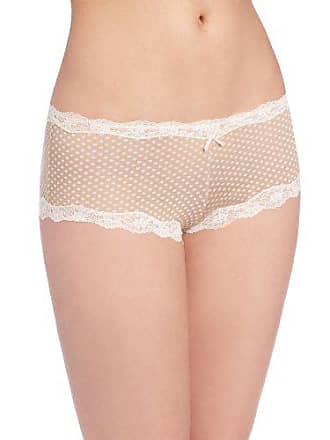 b5162994ff38 Maidenform Womens Modal Cheeky Hipster With Lace Panty, Darling Dot  Beige/Ivory, 6