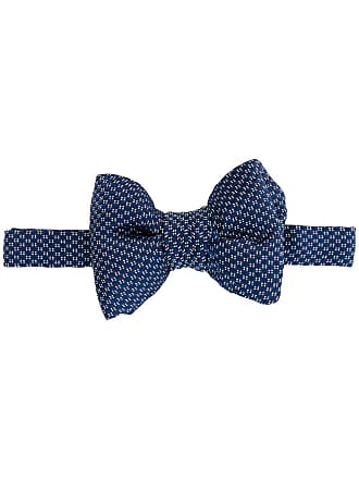 Tom Ford Gravata borboleta de seda - Azul
