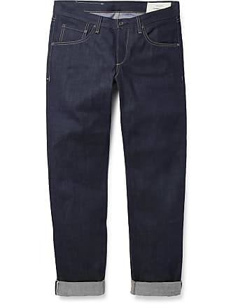 Rag & Bone Fit 2 Slim-fit Raw Selvedge Denim Jeans - Dark denim