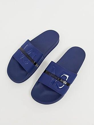 6e50b4b7287 Versace Jeans Couture Sandalias con suela azul de Versace Jeans