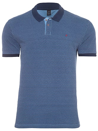 Replay POLO MASCULINA DIAMOND - AZUL