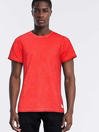 Timberland garment dye t-shirt-Red