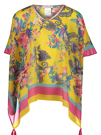 d48107624123b3 Betty Barclay Sommer Poncho, für Damen, Yellow / Rosé, L: 70 cm