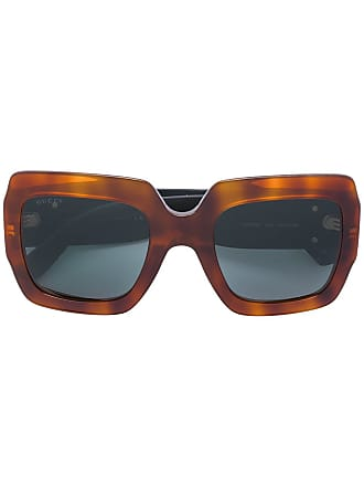 b2ec8bd3d8 Gucci square frame sunglasses - Metallic