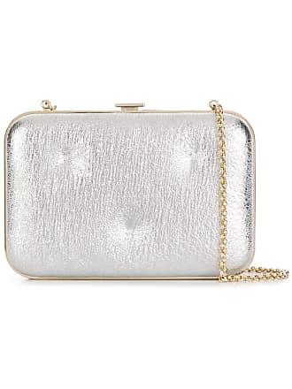 411bb3338f Anya Hindmarch Glitter Marano clutch bag - Silver