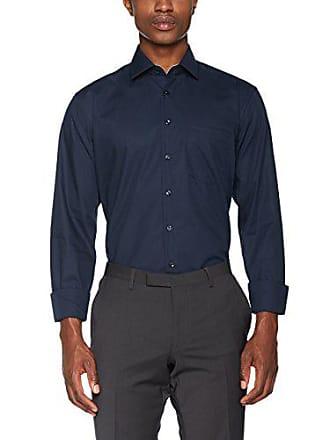 Seidensticker Modern Kurzarm Mit Kent Kragen B/ügelfrei Kariert Camisa para Hombre