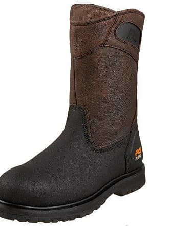 Timberland PRO Mens 53522 Powerwelt Wellington Boot,Rancher Brown,11 M