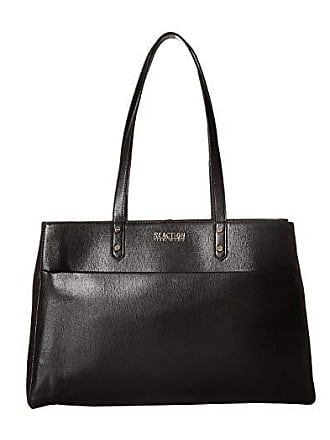 Kenneth Cole Reaction Downtown Darling - Trench Tote (Black) Tote Handbags