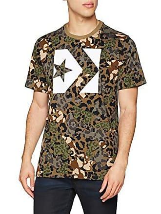 a300469927f33b Converse Herren T-Shirt Star Chevron Box CAMO Tee