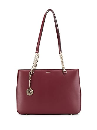 DKNY chain tote bag - Vermelho