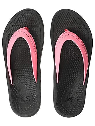 8de9dfb59c2 New Balance Renew Thong (Black Pink) Womens Sandals