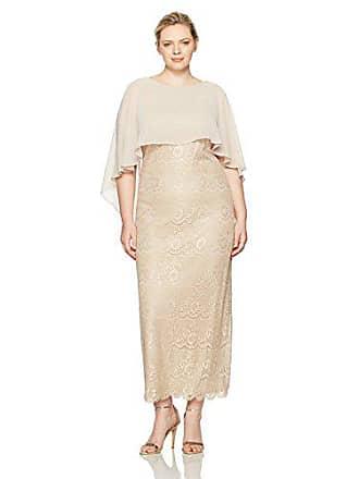 7d962db9d7c Jessica Howard Womens Plus Size Long Sleeveless Capelet Sheath Dress