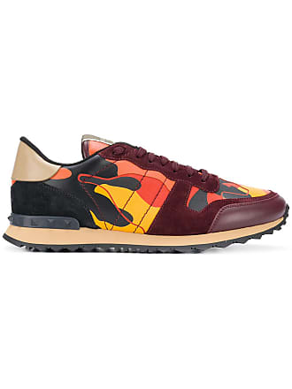 Valentino camouflage Rockrunner sneakers - Yellow