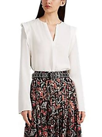 65e90b2016a28 Derek Lam Womens Silk Georgette Blouse - White Size 44 IT