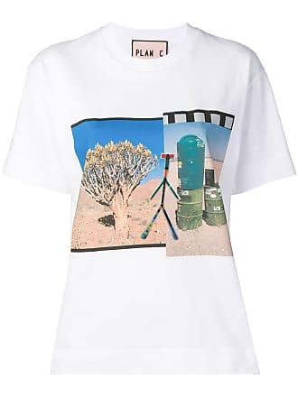 Plan C Camiseta com estampa Collage - Branco