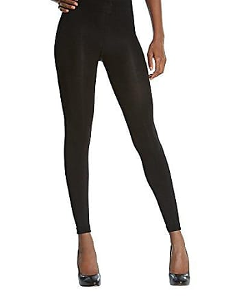 Gold Toe Womens Super Opaque Footless Perfect Fit Tights, 1 Pair, Black, C