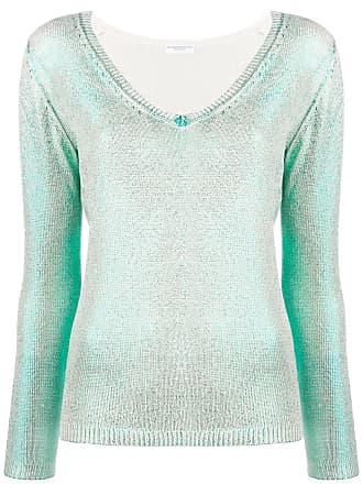 Majestic Filatures Camisa com padronagem de tricô - Verde