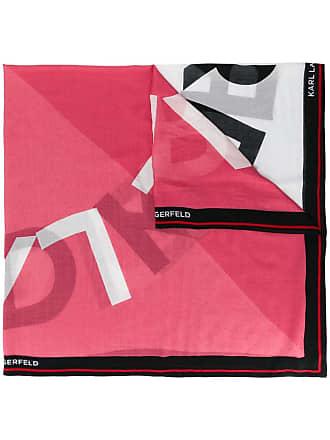 Karl Lagerfeld Echarpe K/Sporty com logo - Preto
