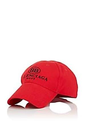 66d45b32c39 Balenciaga Mens BB-Logo Cotton Baseball Cap - Black