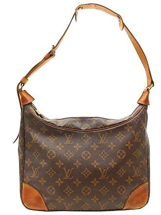 99271e7b7de5 Louis Vuitton Boulogne Monogram Zip Hobo 868321 Brown Coated Canvas  Shoulder Bag