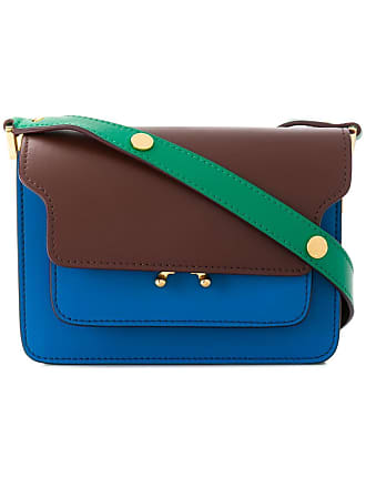 Marni Trunk mini bag - Blue