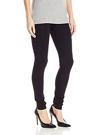 Hue Womens Plus Size Made to Move Double Knit Shaping Legging, Black, 2X