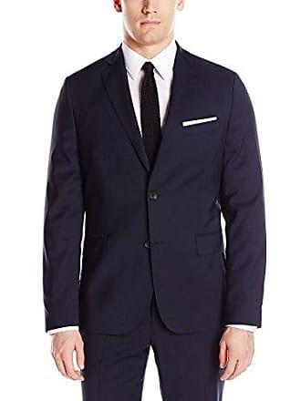 J.Lindeberg Mens Hopper Soft Comfort Wool Jacket, Jl Navy, 56