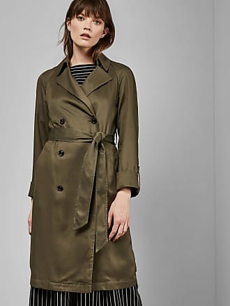 Ted Baker Lightweight Lyocell Mac in Khaki MACCS, Womens Clothing