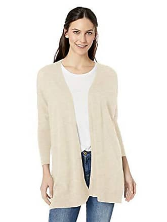 Daily Ritual Womens Lightweight Cocoon Sweater, Beige, Small