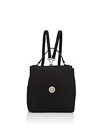 Barneys New York Womens Faux-Leather Backpack - Black