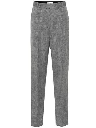 Tibi Herringbone wool pants